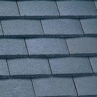 Marley Concrete Plain Roof Tile Smooth Grey Roofing