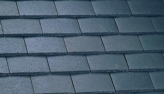 Marley Concrete Plain Roof Tile   Smooth Grey ...