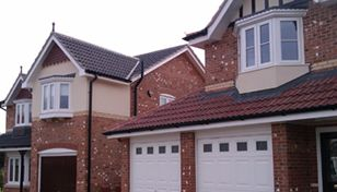 Marley Double Roman Roof Tile Smooth Grey Roofing