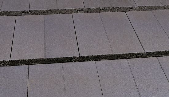 Marley Duo Modern Roof Tile Smooth Grey Roofing