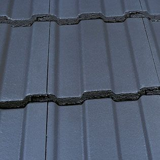 Marley Ludlow Plus Roof Tile Smooth Grey Roofing