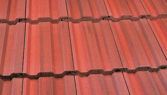 Marley Ludlow Plus Roof Tile Old English Dark Red