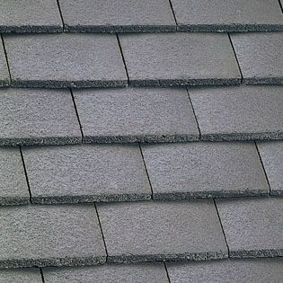 Marley Plain Roof Tile - Smooth Brown