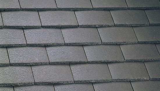 Marley Concrete Plain Roof Tile Smooth Brown Roofing