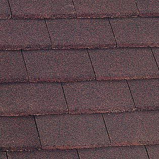 Marley Plain Roof Tile - Dark Red