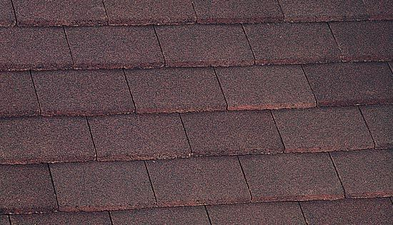 Marley Concrete Plain Roof Tile Dark Red Roofing