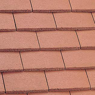 Marley Plain Roof Tile - Mosborough Red