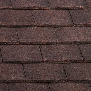 Marley Plain Roof Tile - Natural Red