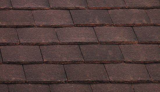 Marley Concrete Plain Roof Tile Natural Red Roofing