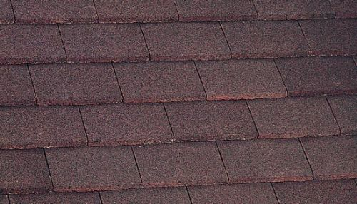 Marley Segmental Ridge - Dark Red