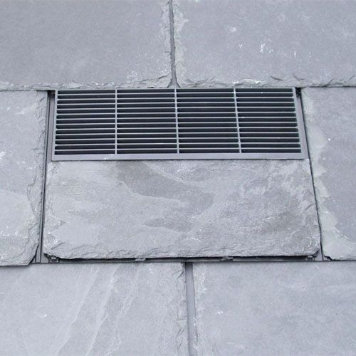 Cembrit Cemvent 500mm X 250mm Slate Vent Grey Green