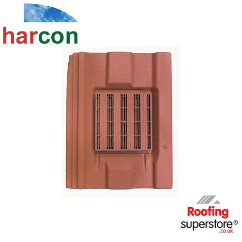 Harcon In Line Square Profile Castellated Roof Tile Vent