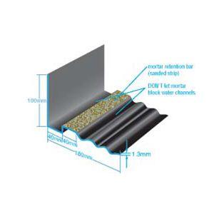 Corodrain Continuous Grp Abutment Soaker 180mm X 3000mm