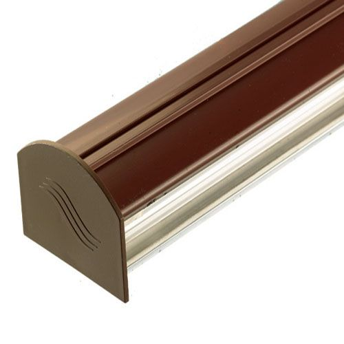 Corotherm 3m Brown Glazing Bar Cap and...