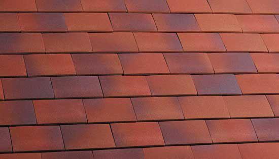 Marley Clay Plain Hawkins Roof Tile Dark Heather