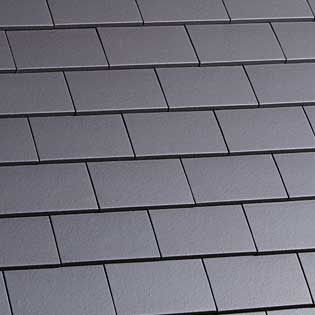 Marley Clay Plain Hawkins Roof Tile Blue Smooth