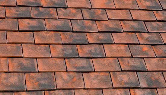 Marley Clay Plain Ashdowne Roof Tile Aylesham Mix
