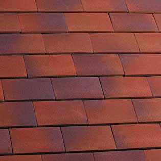 Marley Clay Plain Hawkins Roof Tile Amp Half Dark Heather