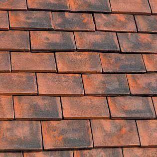 Marley Clay Plain Ashdowne Eaves Tile Aylesham Mix