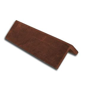 Cembrit 90 Degree Plain Angle Concrete Ridge 450mm - Terracotta