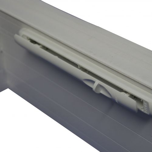 UPGRADE - R6 150mm Upstand Controllable Trickle Vent - 800mm x 1400mm