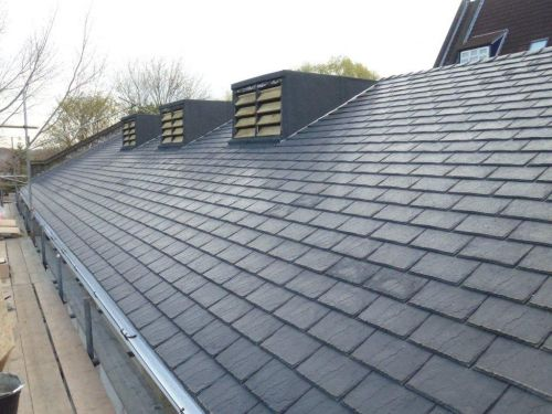 Eco Slate Alternative To Cambrian Slate Grey Pack Of