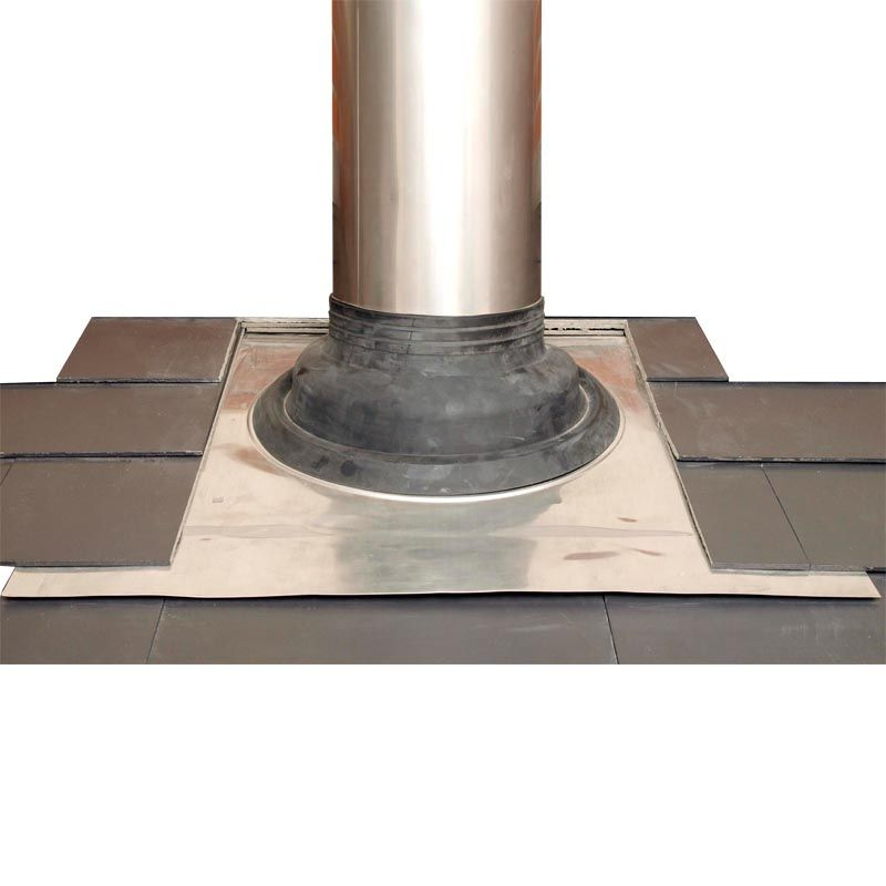Pipe Flashing For Pitched Roofs 110 200mm Seldek Aluminium