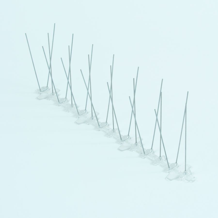 Narrow Plastic Pigeon / Bird Spikes - 3 x 33cm Lengths