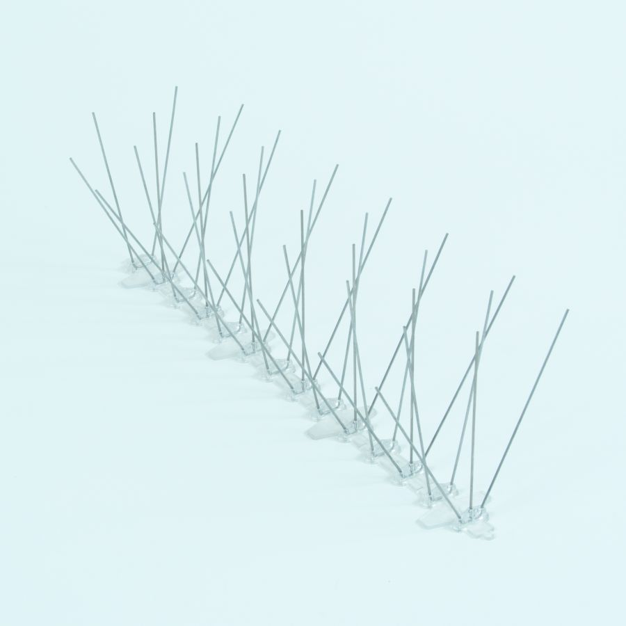 Medium Stainless Steel Pigeon / Bird Spikes - 3 x 33cm Lengths