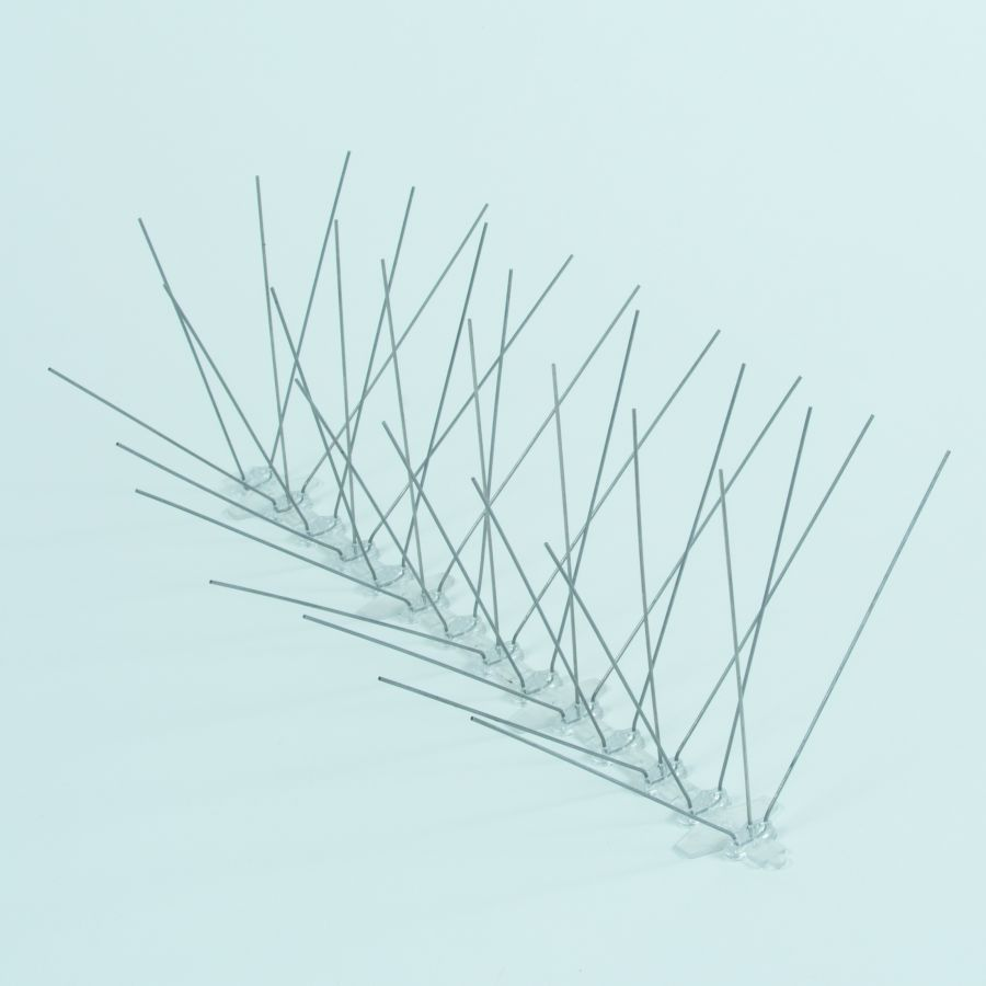 Wide Stainless Steel Pigeon / Bird Spikes - 3 x 33cm Lengths