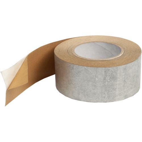 Tyvek Single-Sided Metallised Tape - 75mm x 25m Roll