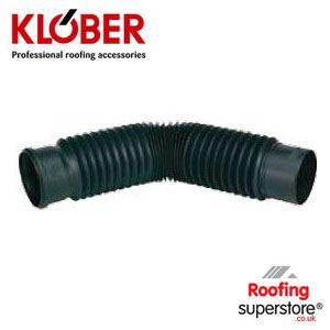 Klober soil pipe for universal vents 125mm diameter for 80mm soil vent pipe