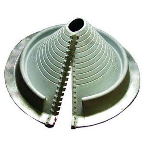 Pipe flashing for metal roofs 50 185mm dektite retrofit grey epdm
