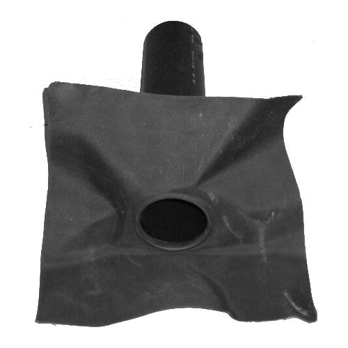 Hertalan Epdm 90mm Rubber Roof Drain Outlet Roofing