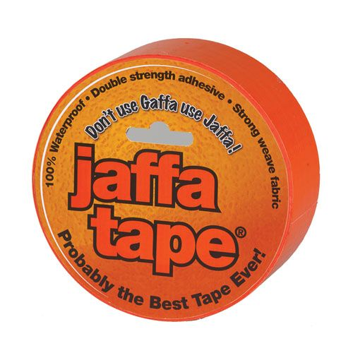 Jaffa Tape Jumbo - 75mm x 25m Orange