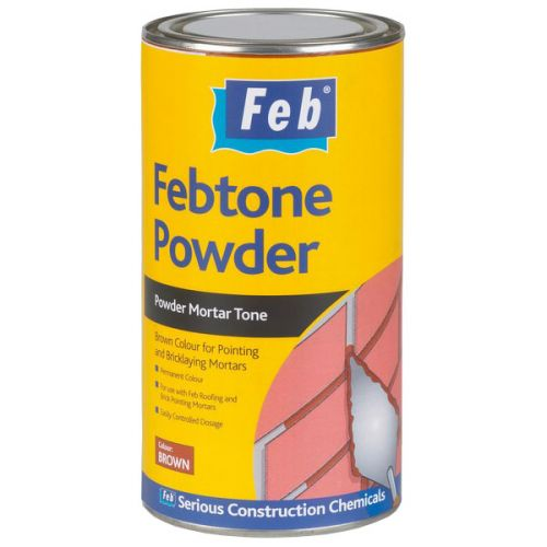 Febtone Powder Mortar Tone - 1kg Brown