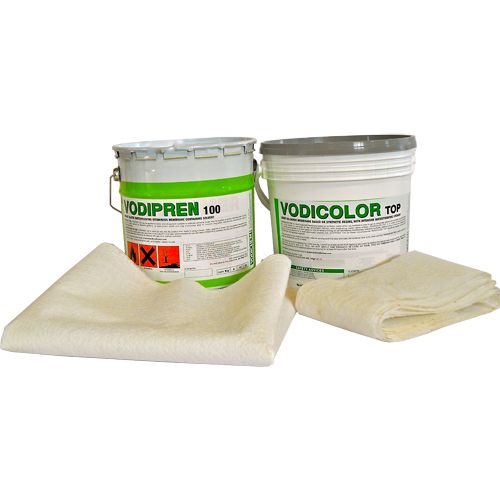 Vodichem Flat Roof Liquid Rubber Membrane Kit - 5m2 (Grey)