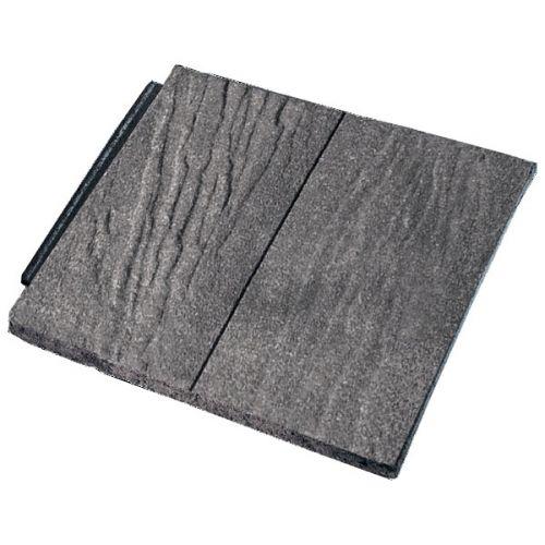 Forticrete Gemini Interlocking Plain Tiles Sandfaced