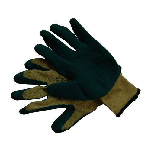 Green Latex Coated Knitwrist Gripper Glove - Size 10/XL