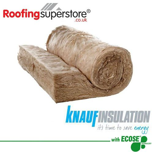 100mm Knauf Earthwool Acoustic Roll 2x 600mm X 9 17m 11