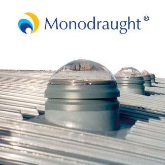 Monodraught ABS Suncatcher Natural Daylight and Ventilation System