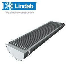 Lindab HD Polythene Gutter Leaf Guard Grid with Clips - 10m Length