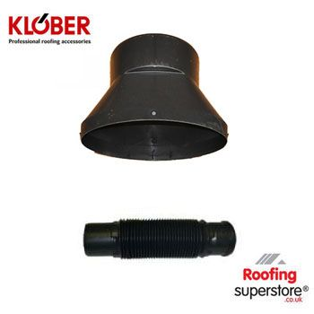 Klober Profile Line Adaptor and Flexi Pipe
