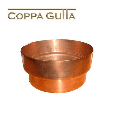 Copper Guttering Downpipe Connector 100mm Roofing