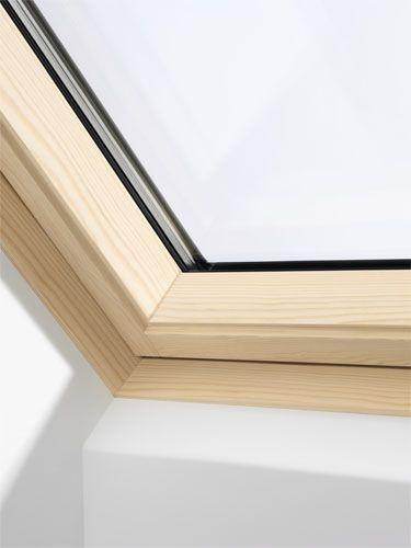 Velux ggl mk08 3066 pine centre pivot window triple glazed for Velux bk04