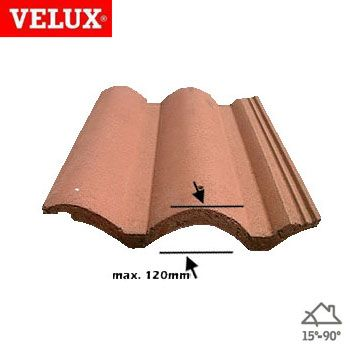 VELUX EDW MK06 0000 Single 120mm Tile...