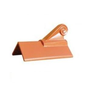 Grc 450mm One Hole Crested Angle Ridge With Scroll Finial