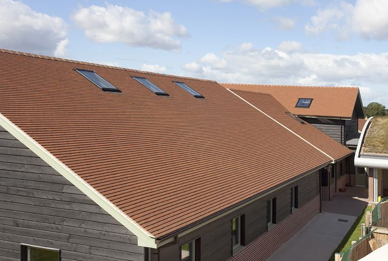 Marley Clay Plain Acme Single Camber Roof Tile Mixed