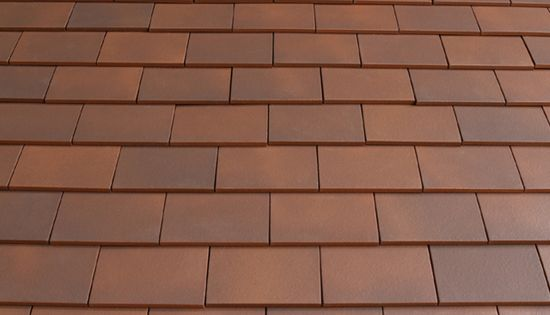 Marley Clay Plain Acme Single Camber Eaves Tile Mixed