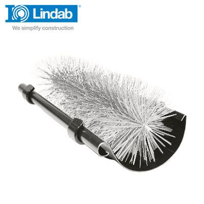 Lindab 3m Length Leafline Gutter Brush Opaque - 100mm